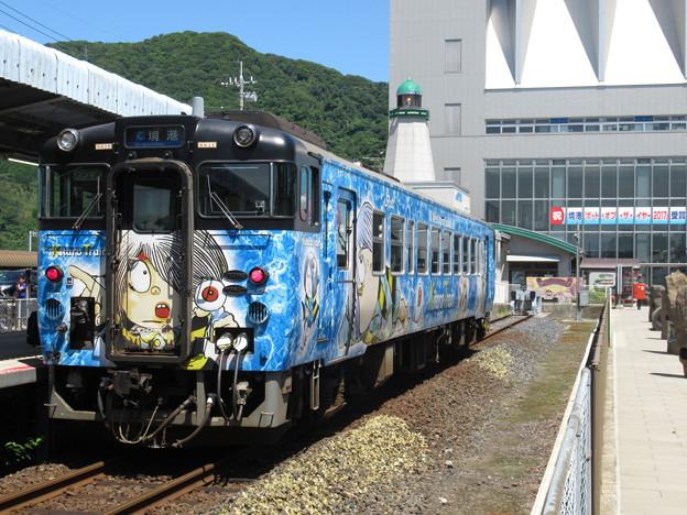 境線キハ40系 キハ40 2118【鬼太郎列車】