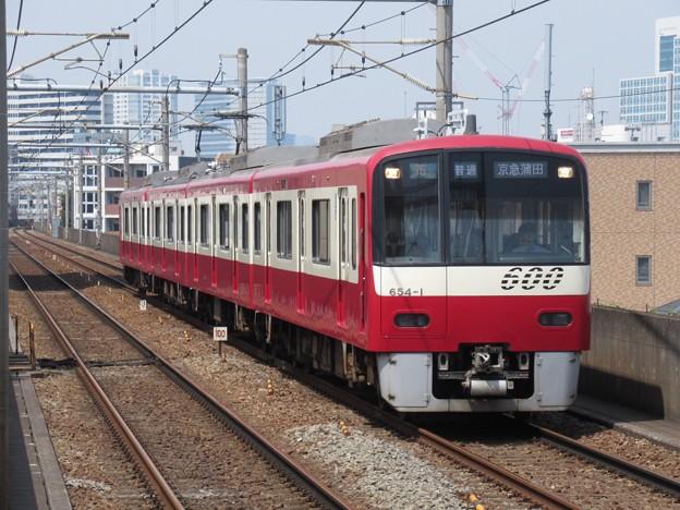 京急線600形 654F