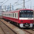 写真: 京急線600形 654F