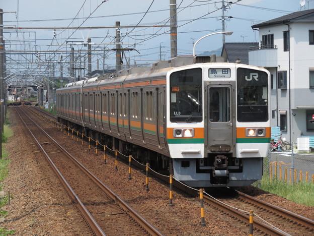 東海道線211系5000番台 LL3+T4編成
