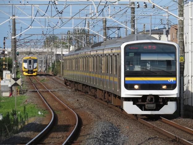 内房線209系2100番台 C605編成