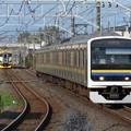 Photos: 内房線209系2100番台 C605編成