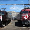 EF58 61・EF81 81 2並び