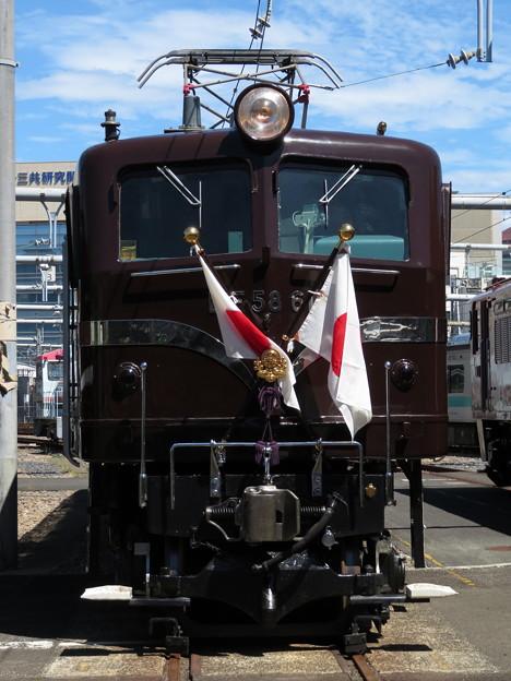 EF58 61【日章旗】
