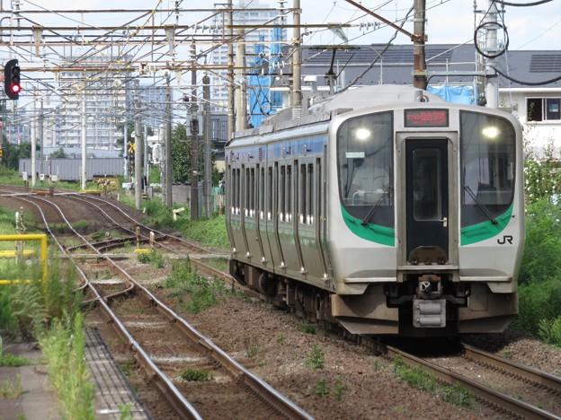 仙台空港アクセス線E721系500番台 P-504編成