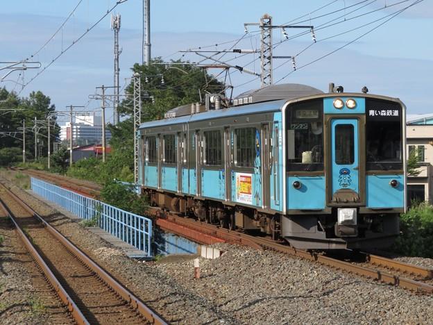 青い森鉄道701系 青い森701-8編成