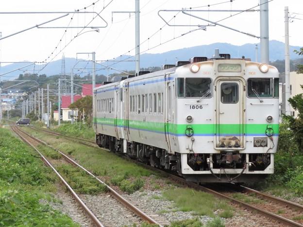 函館線キハ40系 キハ40 1806+キハ40 802
