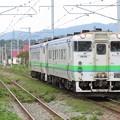 Photos: 函館線キハ40系 キハ40 1806+キハ40 802