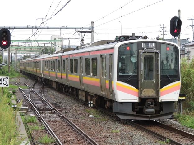 越後線E129系100番台 A27+B15編成