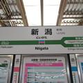 Photos: 新潟駅 駅名標