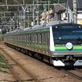 Photos: 横浜線E233系6000番台 H001編成【横浜線開業110周年HM】
