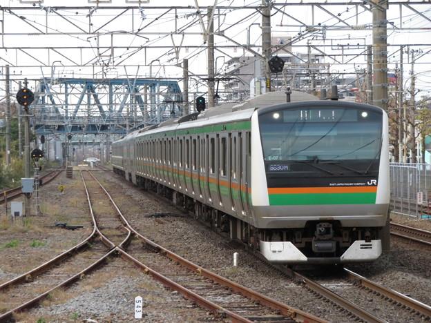 東海道線E233系3000番台 E-07編成