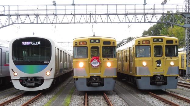 西武38118F・2403F・2007F 3並び/3