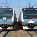 E233系1000番台サイ155・サイ174編成 2並び