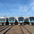 E233系1000番台 6並び