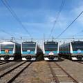 Photos: E233系1000番台 6並び