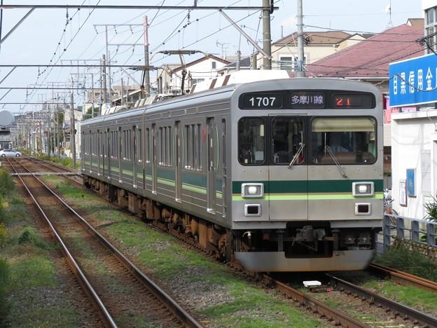 多摩川線1000系1500番台 1507F