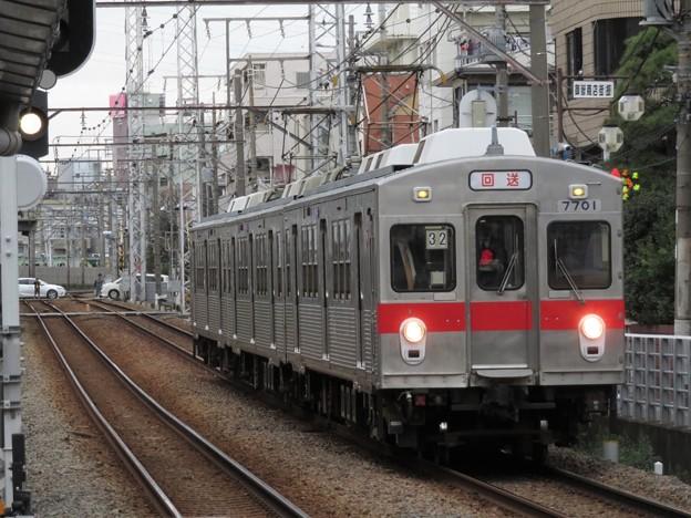 池上線7700系 7901F【太赤帯】