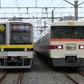 Photos: 東武21411F・351F 2並び