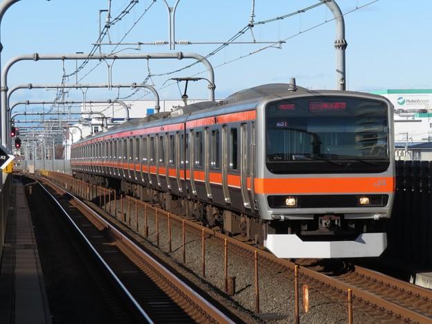 武蔵野線E231系0番台 MU31編成