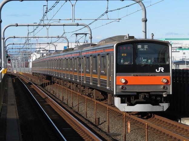 武蔵野線205系5000番台 M14編成