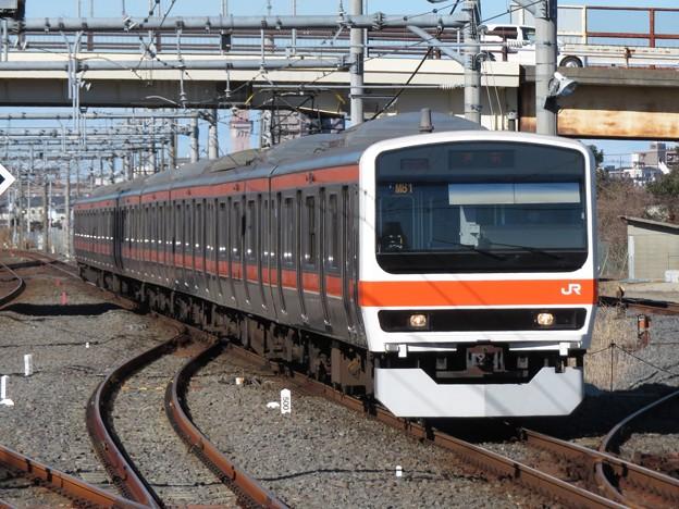 武蔵野線209系500番台 M81編成