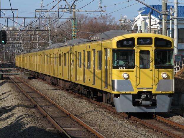 西武池袋線2000系 2077F