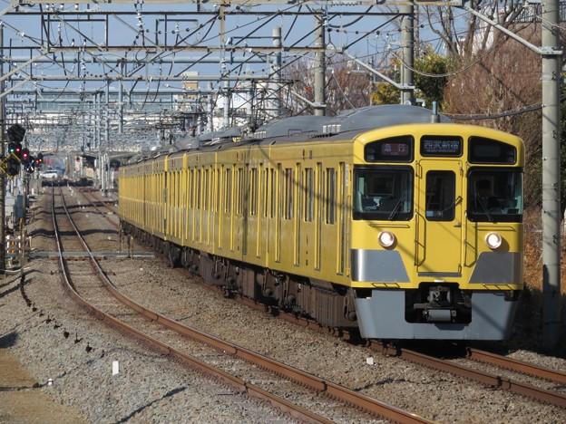 西武新宿線2000系 2531F+2047F