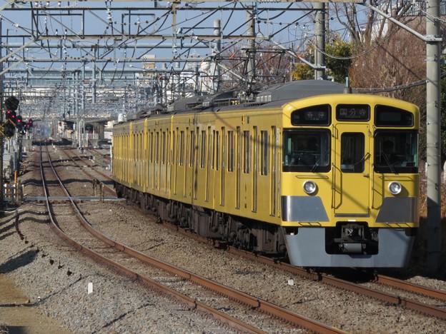 西武新宿線2000系 2045F
