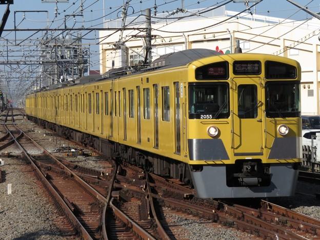 西武新宿線2000系 2055F
