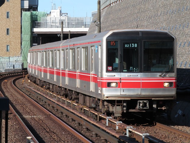 東京メトロ丸ノ内線02系 02-138F