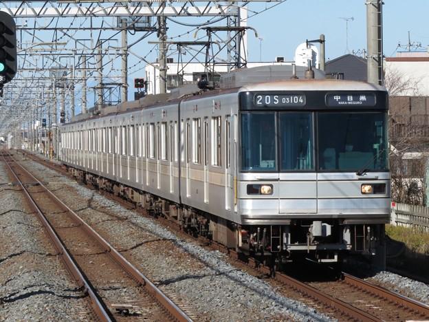 東京メトロ日比谷線03系 03-104F