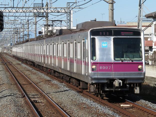 東京メトロ半蔵門線8000系 8107F
