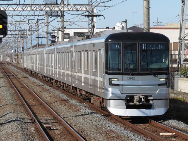 東京メトロ日比谷線13000系 13102F