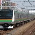 東海道線E233系3000番台 E-04+E-62編成