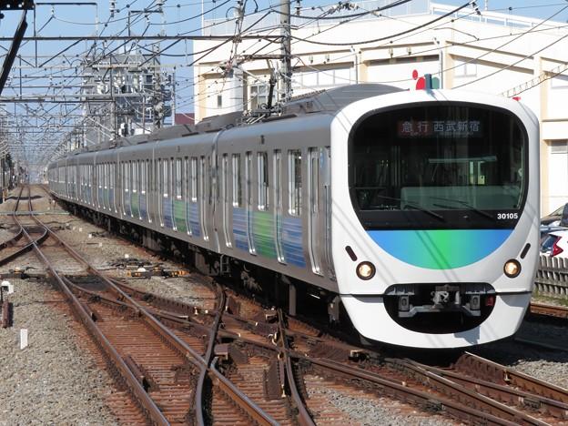 Photos: 西武新宿線30000系 30105F