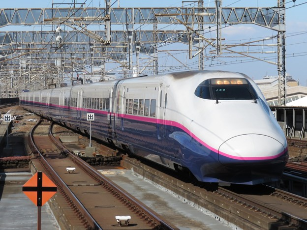 東北新幹線E2系1000番台 J59+L72編成
