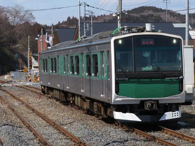 烏山線EV-E301系 V4編成