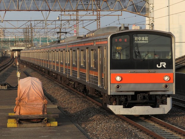 武蔵野線205系5000番台 M21編成