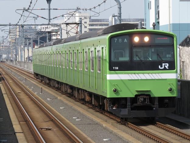 おおさか東線201系 ND608編成