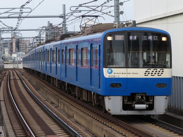 京急線600形 606F【KEIKYU BLUE SKY TRAIN】