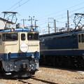 Photos: EF65 1102・EF65 2101 2並び/1
