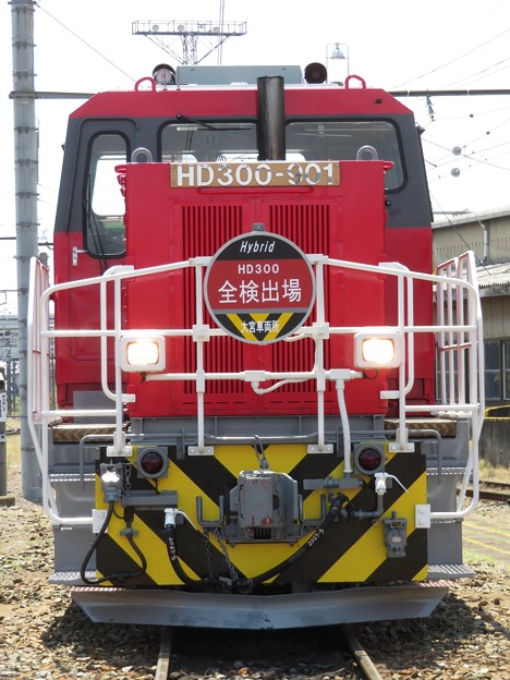 HD300-901【全検出場HM】