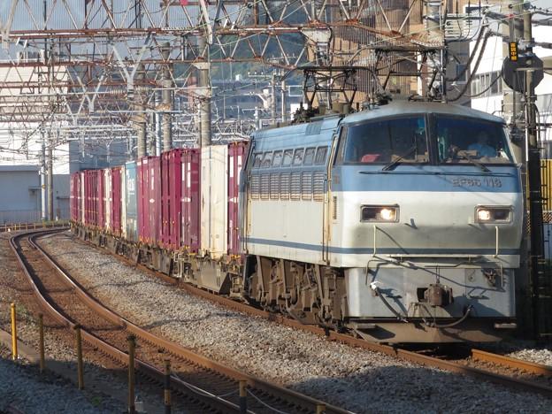 EF66 113+コキ