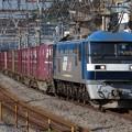 Photos: EF210-129+コキ