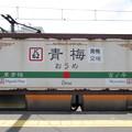 #JC62 青梅駅 駅名標