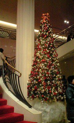 宝塚もクリスマス仕様