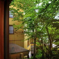 Photos: 宿の窓から