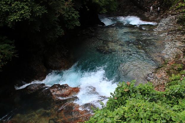 四万川の渓流