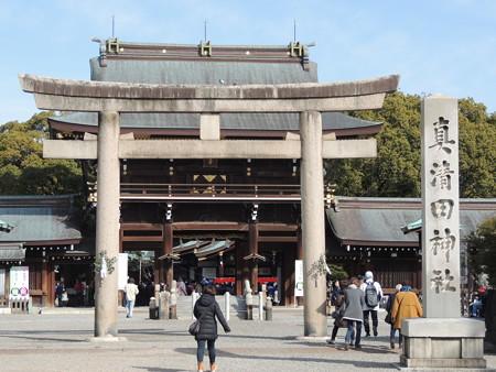 真清田神社(愛知県一宮市)。